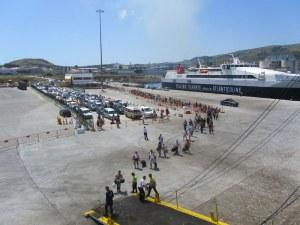 Porto da Praia da Vitória - Ilha Terceira - Açores - Pedalaçores